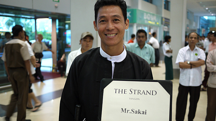 Mr. Kozin for the Strand, Yangon