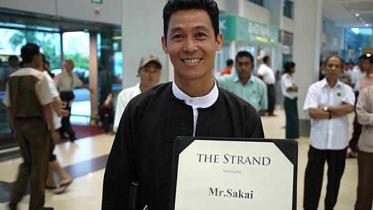 Mr. Kozin for the Strand, Yangon