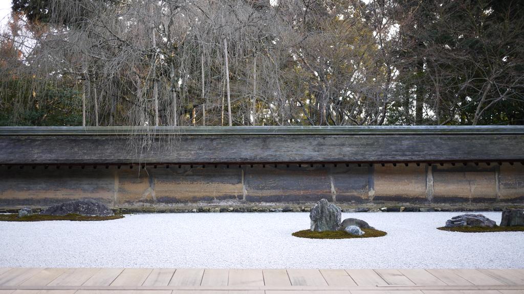 龍安寺石庭 京都 ryoanji-temple
