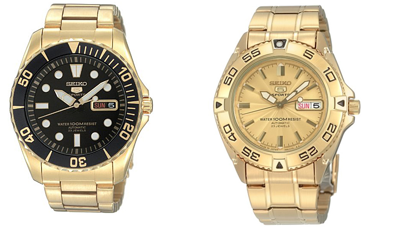 seiko5golddivers